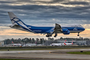 N826BA - Air Bridge Cargo Boeing 747-8F
