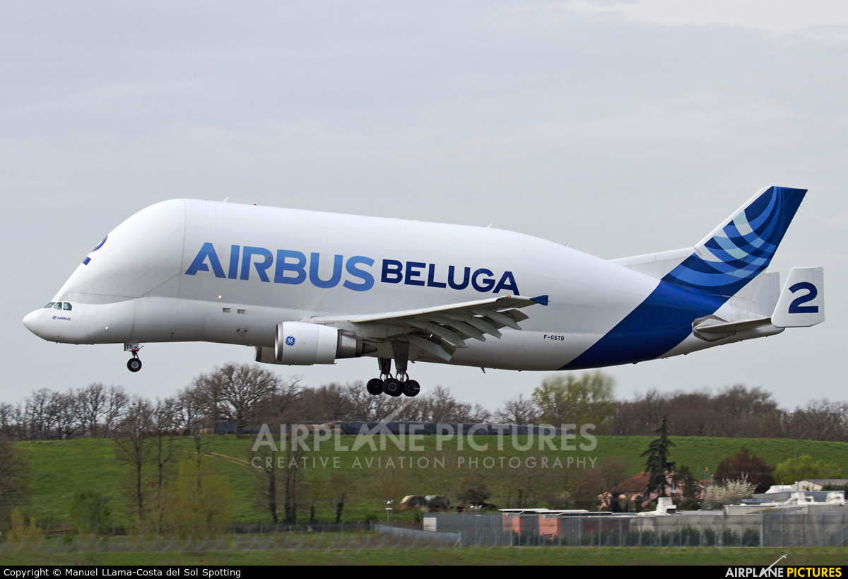 Airbus Industrie F-GSTB aircraft at Toulouse - Blagnac
