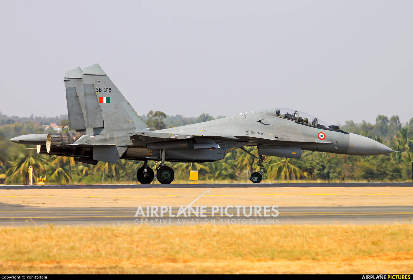 India - Air Force SB318 aircraft at Yelahanka AFB