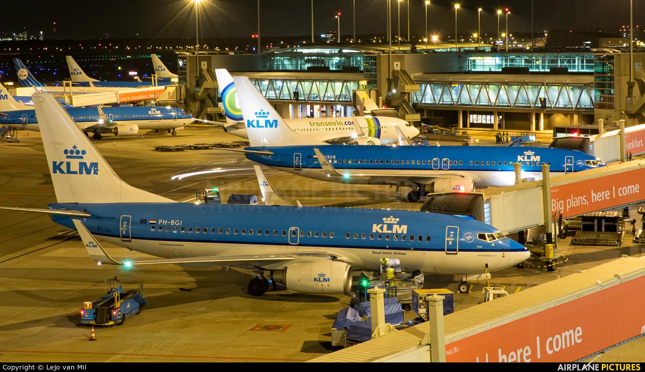KLM PH-BGI aircraft at Amsterdam - Schiphol