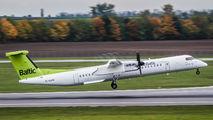YL-BAH - Air Baltic de Havilland Canada DHC-8-400Q / Bombardier Q400 aircraft