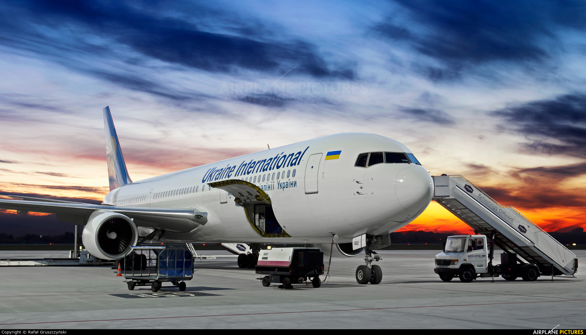 Image result for ukraine international airlines 767