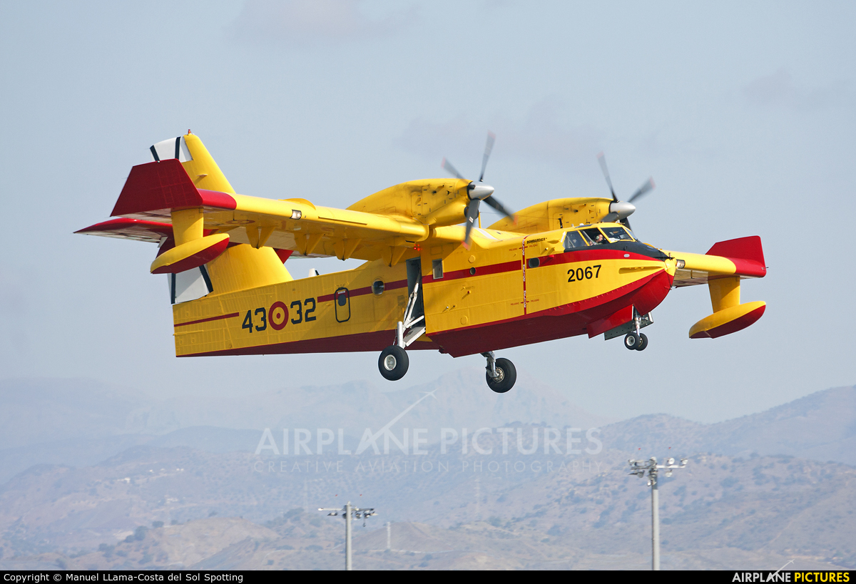 Spain - Air Force UD.14-02 aircraft at Málaga