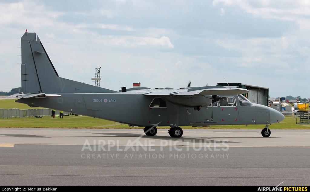 British Army ZH004 aircraft at Waddington