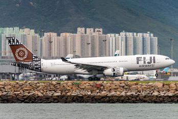 DQ-FJV - Fiji Airways Airbus A330-200