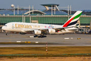 A6-EDV - Emirates Airlines Airbus A380 aircraft