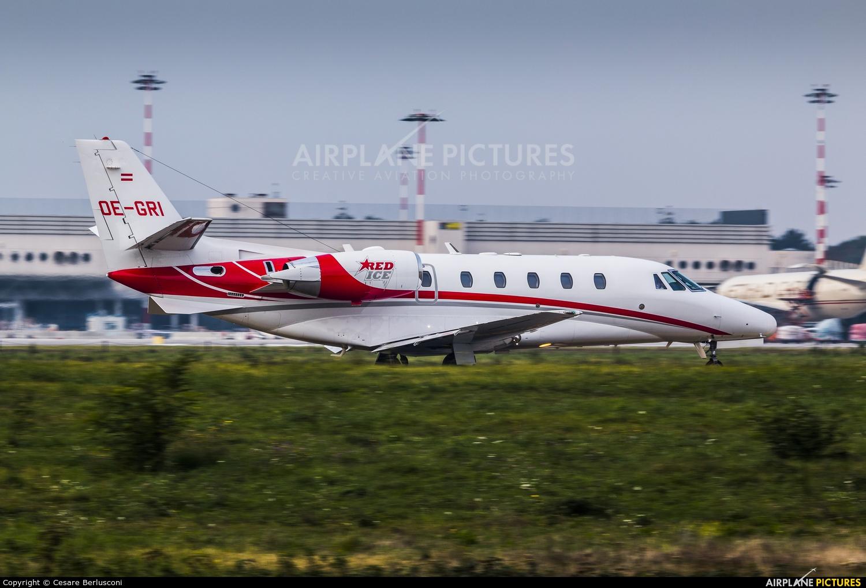 ABC Bedarfsflug OE GRI aircraft at Milan - Malpensa