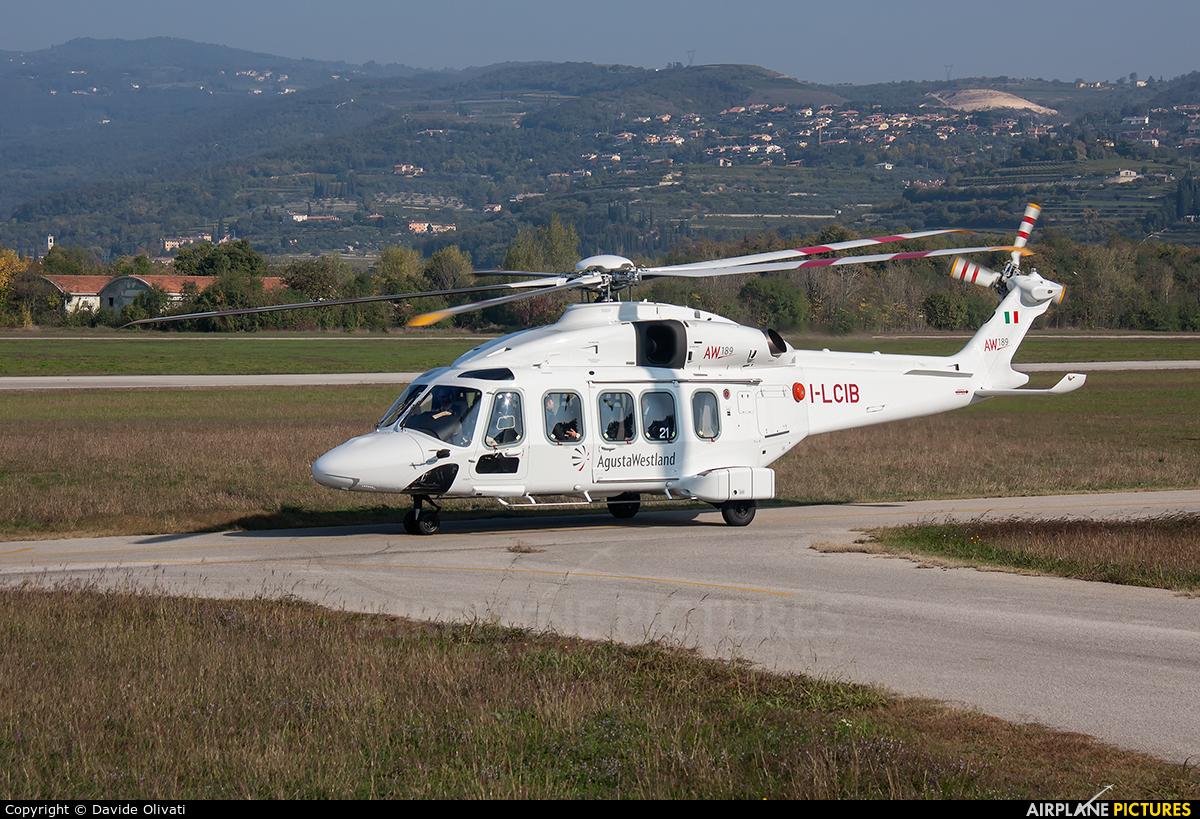 Agusta Westland I-LCIB aircraft at Verona - Boscomantico