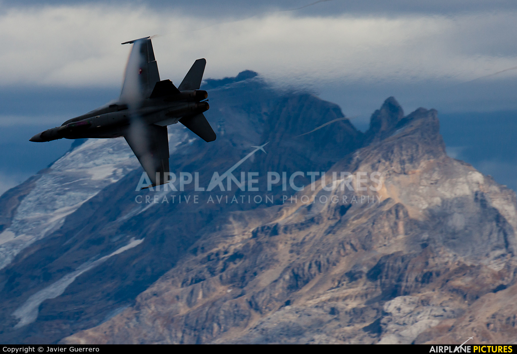Switzerland - Air Force - aircraft at Axalp - Ebenfluh Range