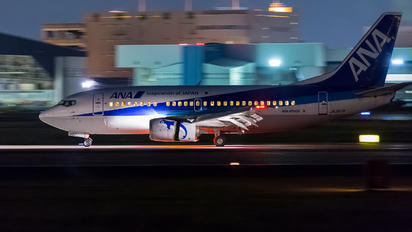 JA357K - ANA Wings Boeing 737-500