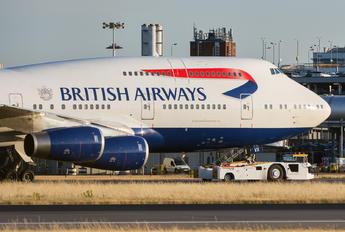 G-CIVX - British Airways Boeing 747-400