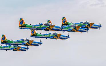 """5712 - Brazil - Air Force """"Esquadrilha da Fumaça"""" Embraer EMB-314 Super Tucano A-29A"""