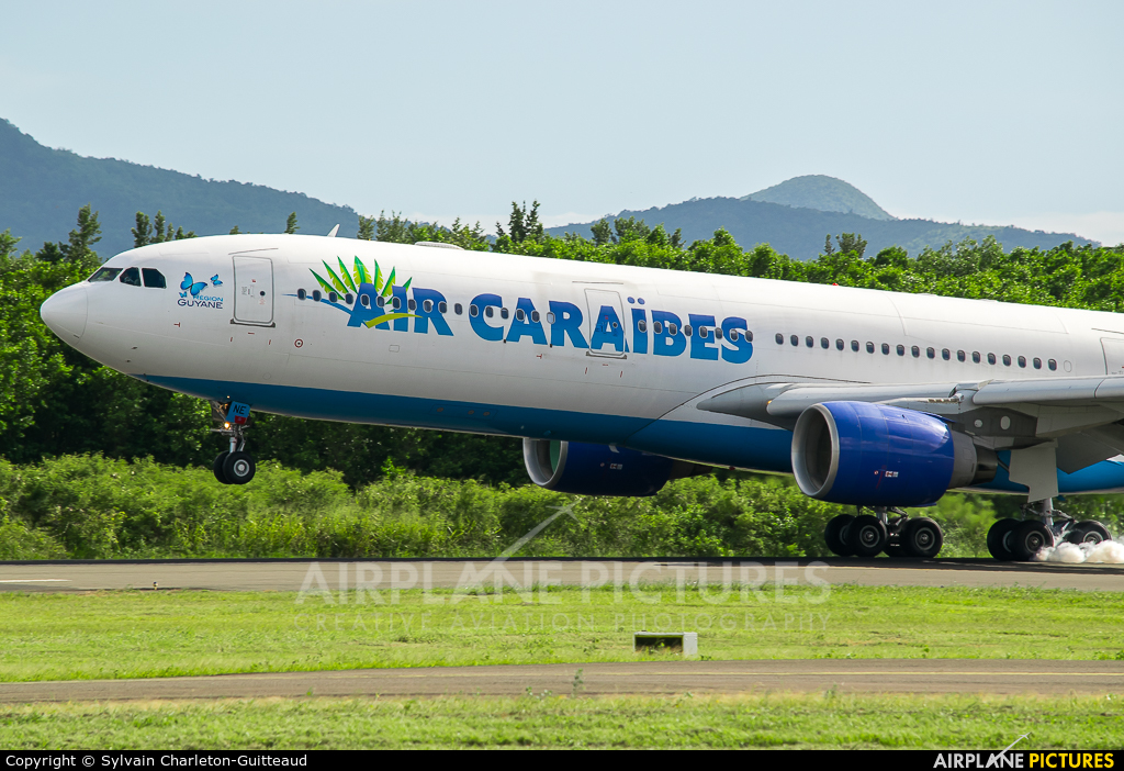 Air Caraibes F-OONE aircraft at Martinique - Aimé Césaire