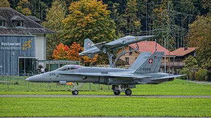 J-5026 - Switzerland - Air Force McDonnell Douglas F/A-18C Hornet