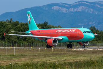 UR-WRK - Windrose Air Airbus A320
