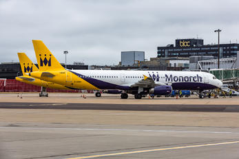 G-OZBH - Monarch Airlines Airbus A321