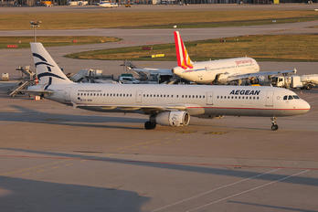 SX-DGP - Aegean Airlines Airbus A321