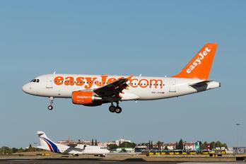 HB-JYH - easyJet Switzerland Airbus A319