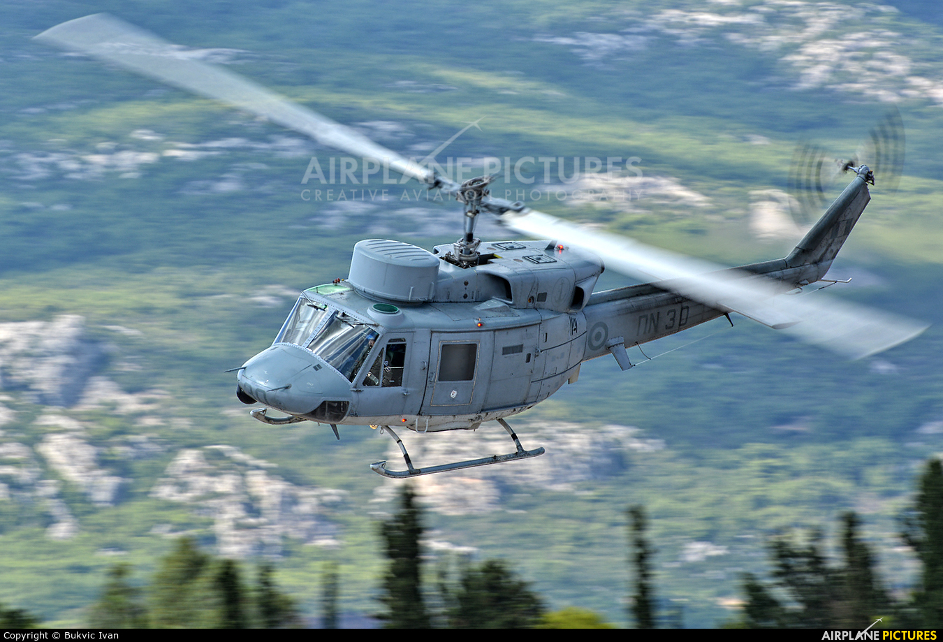 Greece - Hellenic Navy PN30 aircraft at Tatoi