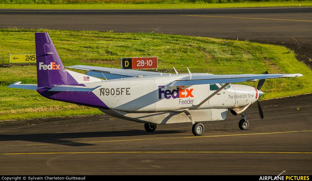 FedEx Feeder N905FE aircraft at Martinique - Aimé Césaire