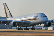 9V-SKC - Singapore Airlines Airbus A380 aircraft