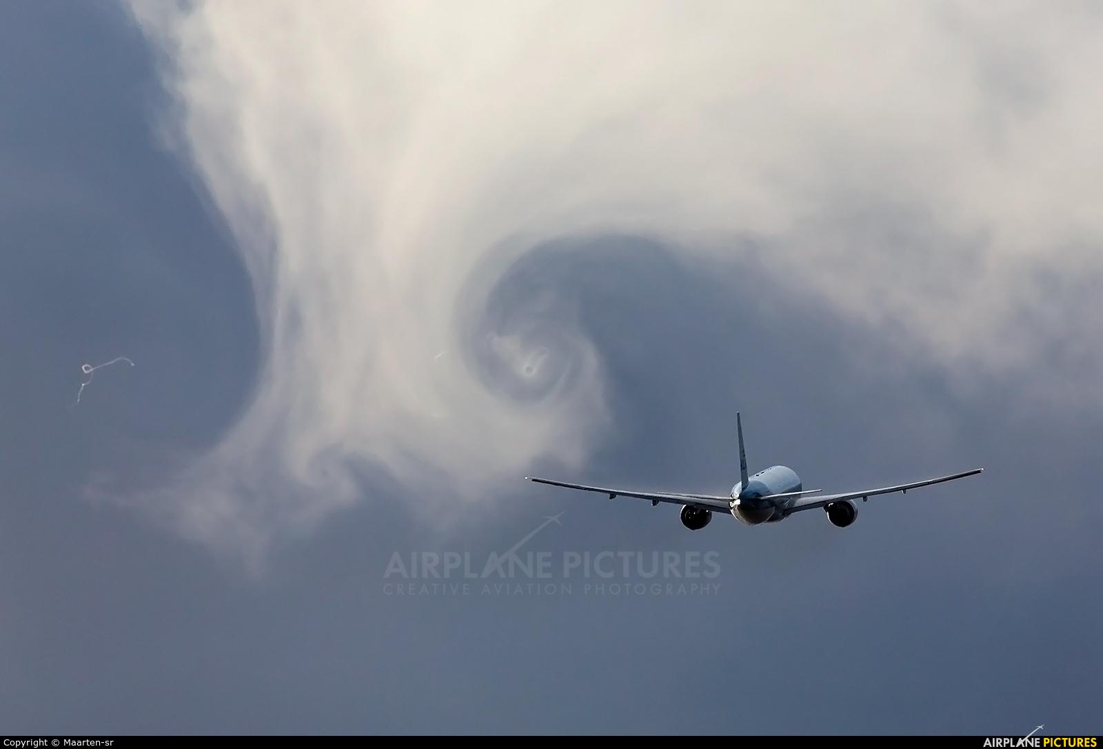 KLM PH-BQC aircraft at Amsterdam - Schiphol