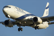 4X-EKT - El Al Israel Airlines Boeing 737-800 aircraft