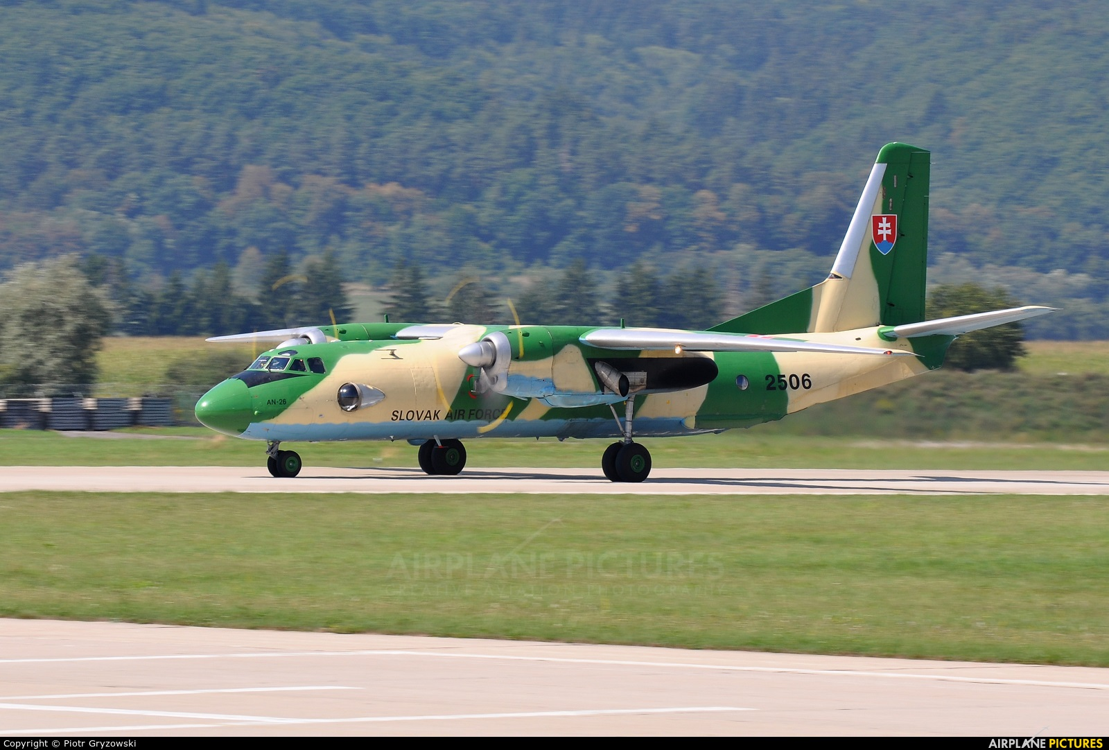 Slovakia -  Air Force 2506 aircraft at Sliač