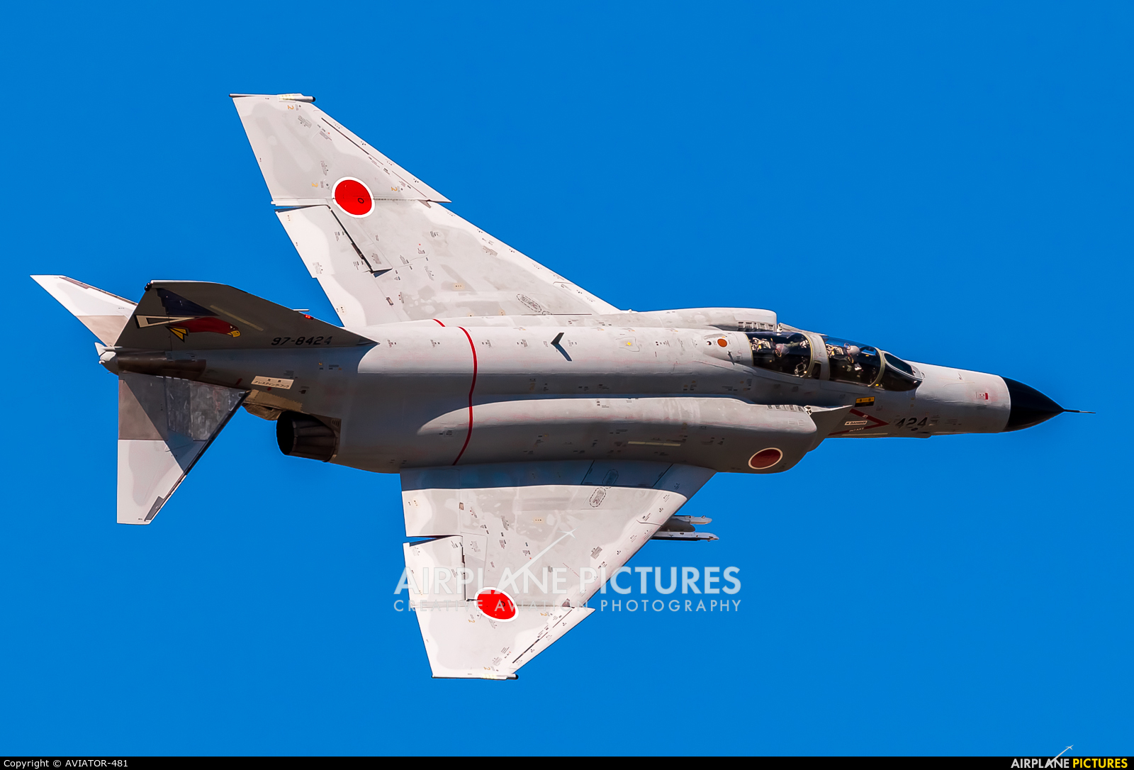 Japan - Air Self Defence Force 97-8424 aircraft at Ibaraki - Hyakuri AB