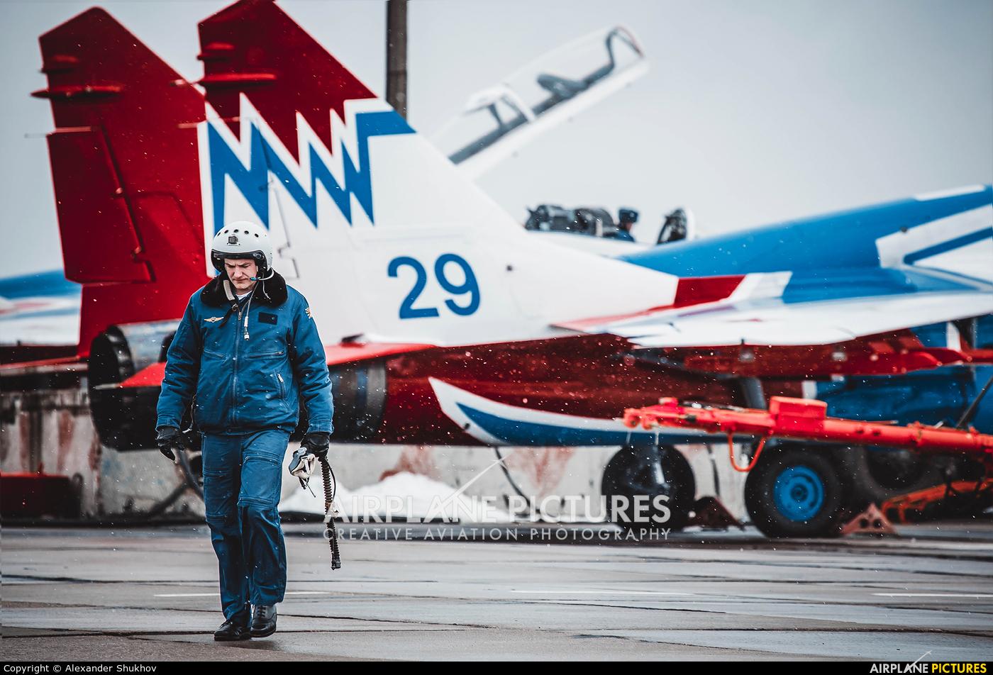 """Russia - Air Force """"Strizhi"""" 29 aircraft at Kubinka"""