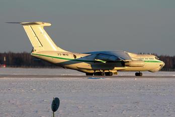 7T-WIQ - Algeria - Air Force Ilyushin Il-78