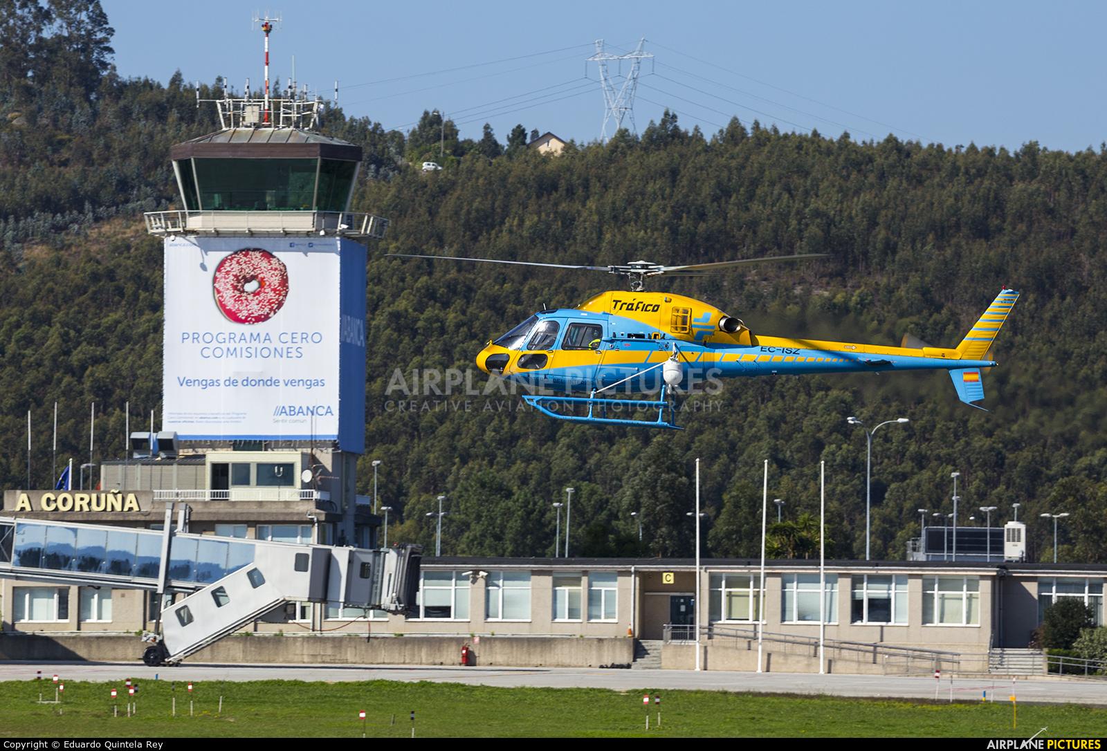Spain - Government EC-ISZ aircraft at La Coruña