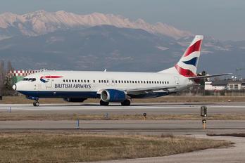 G-DOCX - British Airways Boeing 737-400