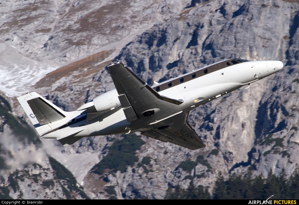 NetJets Europe (Portugal) CS-DXZ aircraft at Innsbruck