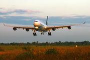 LV-ZRA - Aerolineas Argentinas Airbus A340-200 aircraft