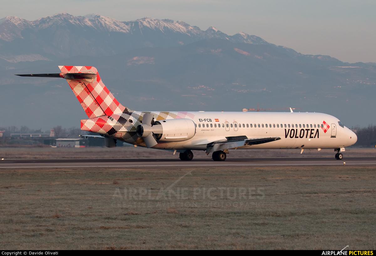 Volotea Airlines EI-FCB aircraft at Verona - Villafranca