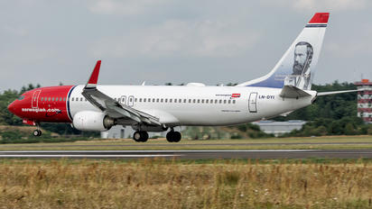 LN-DYI - Norwegian Air Shuttle Boeing 737-800