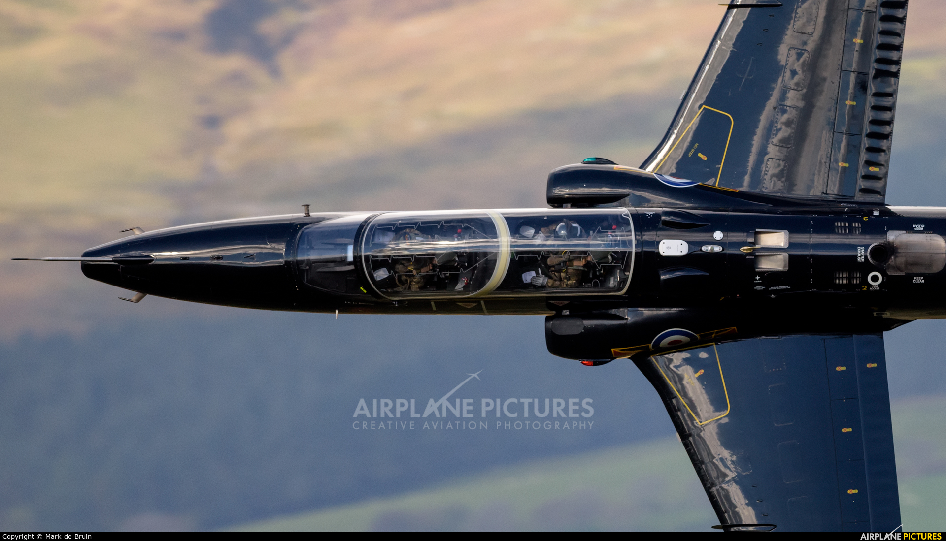 Royal Air Force ZK027 aircraft at Machynlleth Loop - LFA 7