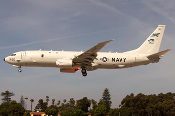 168760 - USA - Navy Boeing P-8A Poseidon
