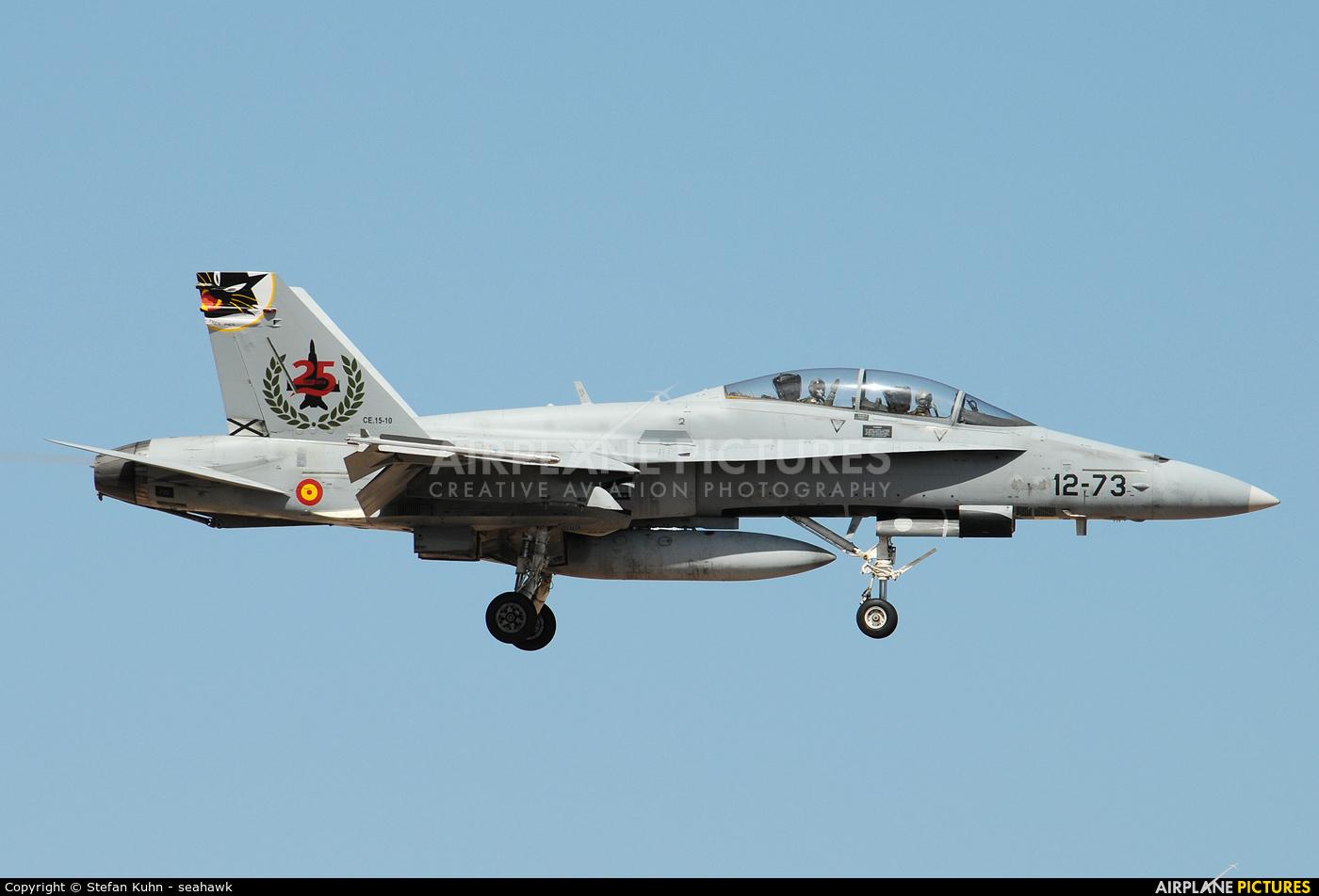 Spain - Air Force CE.15-10 aircraft at Las Palmas de Gran Canaria
