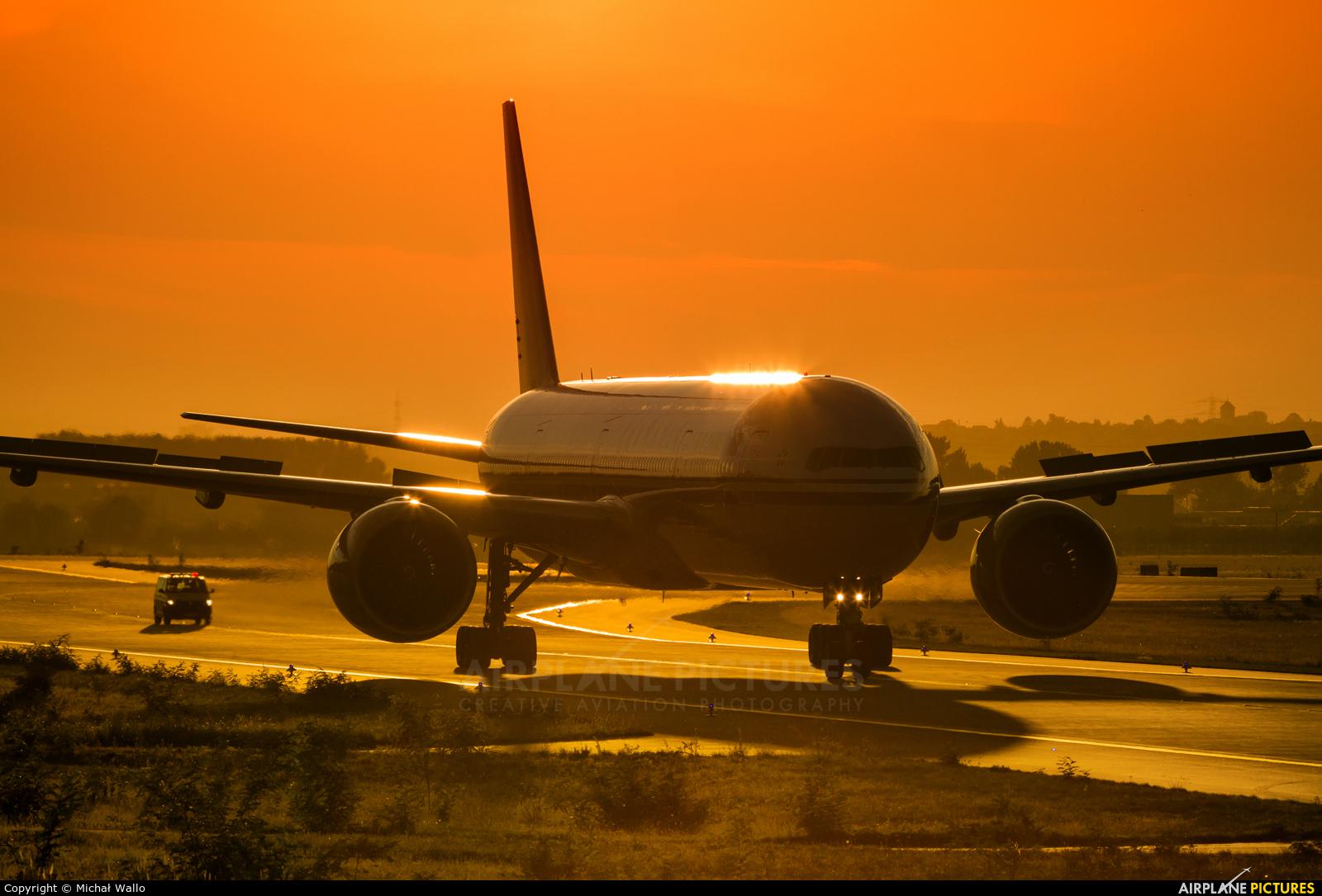 Air China B-2088 aircraft at Frankfurt