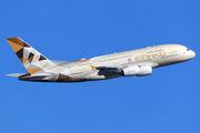 A6-APD - Etihad Airways Airbus A380 aircraft