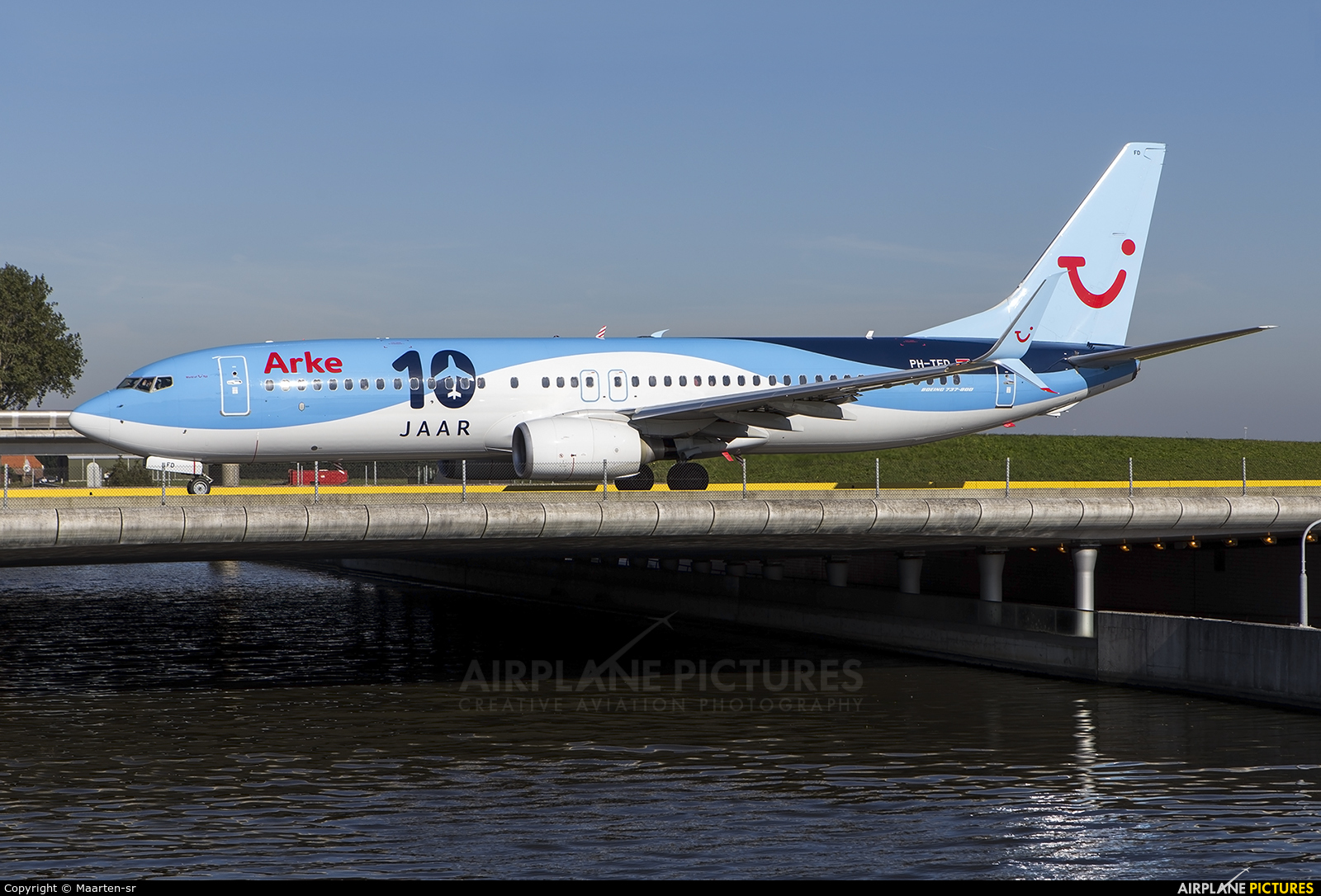 Arke/Arkefly PH-TFD aircraft at Amsterdam - Schiphol