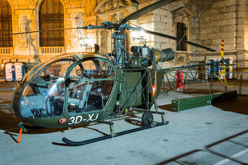 3D-XJ - Austria - Air Force Sud Aviation SA-313 / 318 Alouette II (all models)