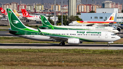 YI-ASE - Iraqi Airways Boeing 737-800