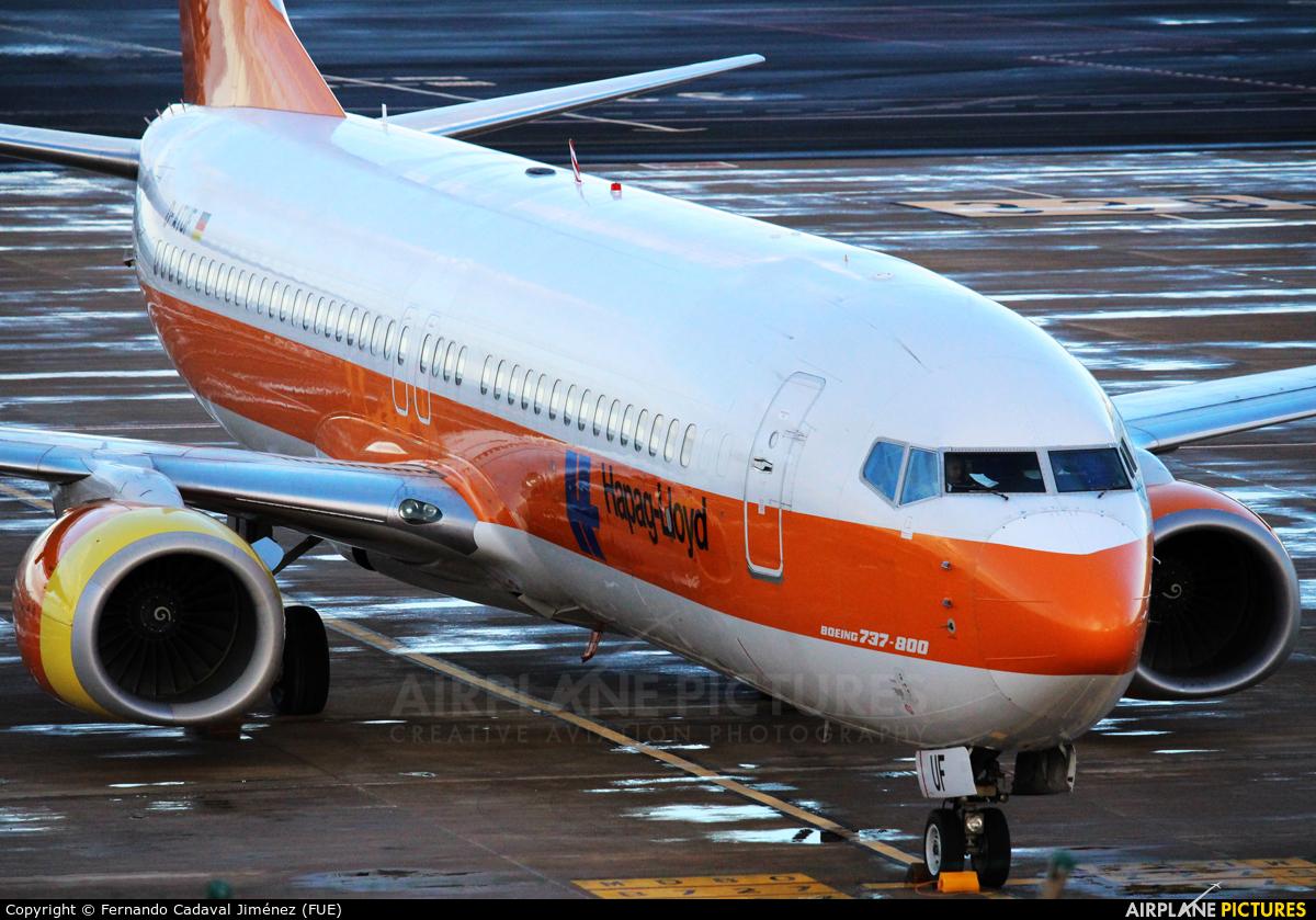 Hapag-Lloyd D-ATUF aircraft at Fuerteventura - Puerto del Rosario