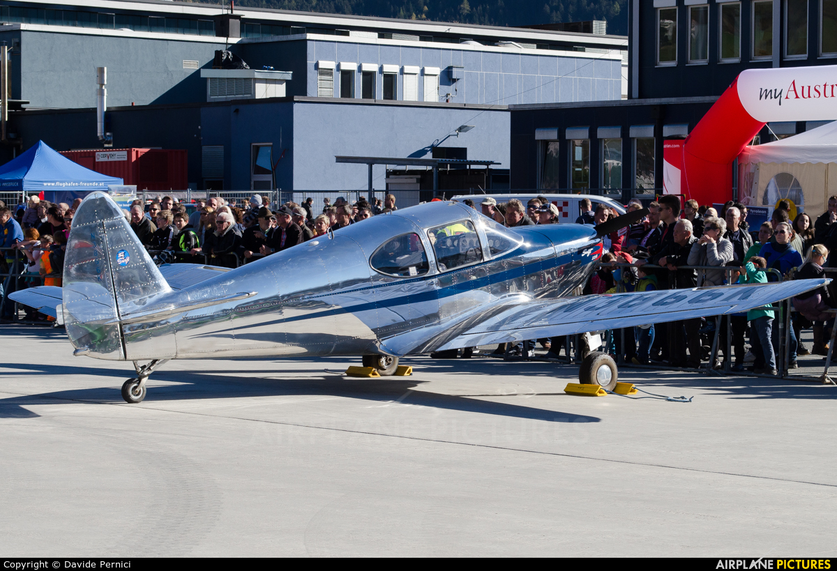 N3866K - Private Globe GC-1B Swift at Innsbruck | Photo ID
