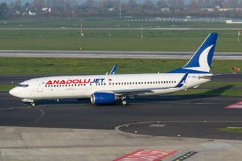 TC-SBN - AnadoluJet Boeing 737-800