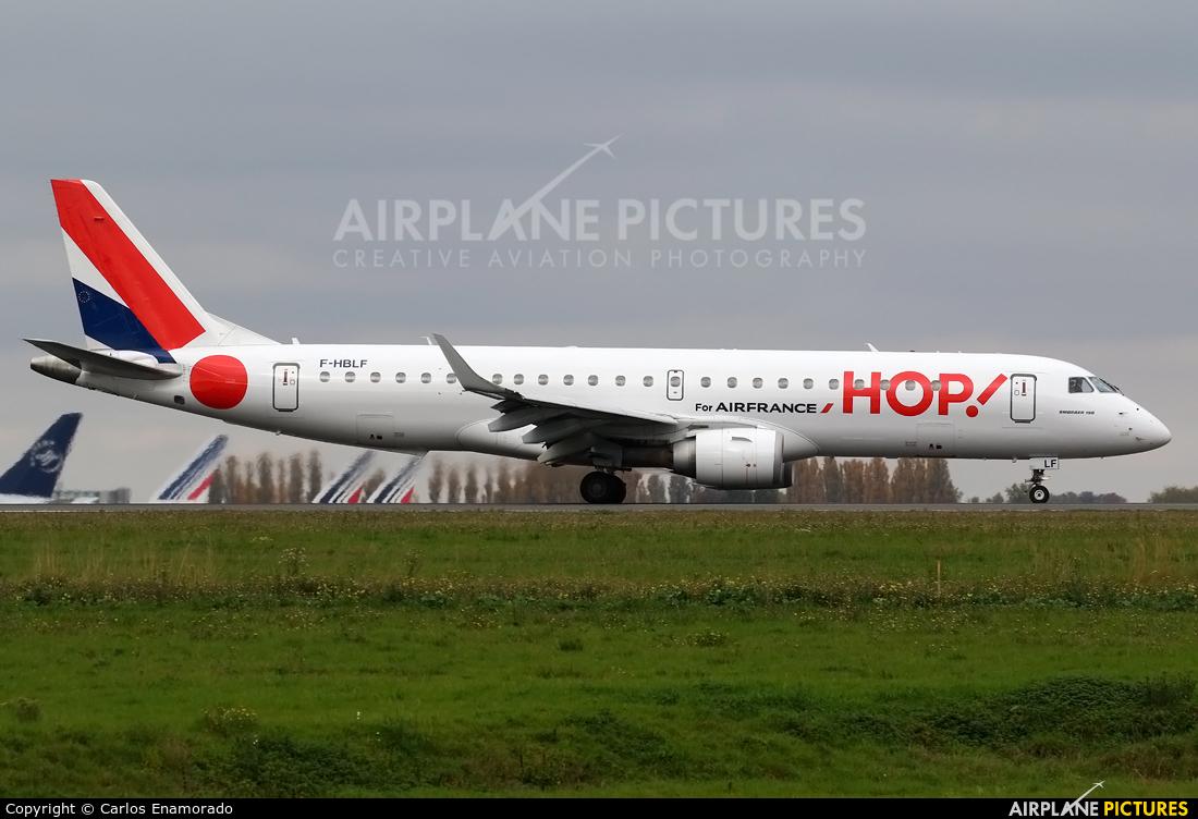 Air France - Hop! F-HBLF aircraft at Paris - Charles de Gaulle