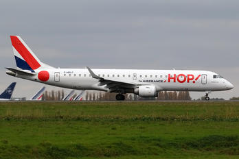 F-HBLF - Air France - Hop! Embraer ERJ-190 (190-100)
